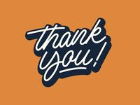 Thank You! - Logo