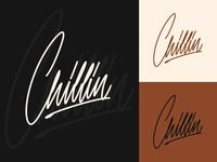 Chillin - Clothing Logo Sketches