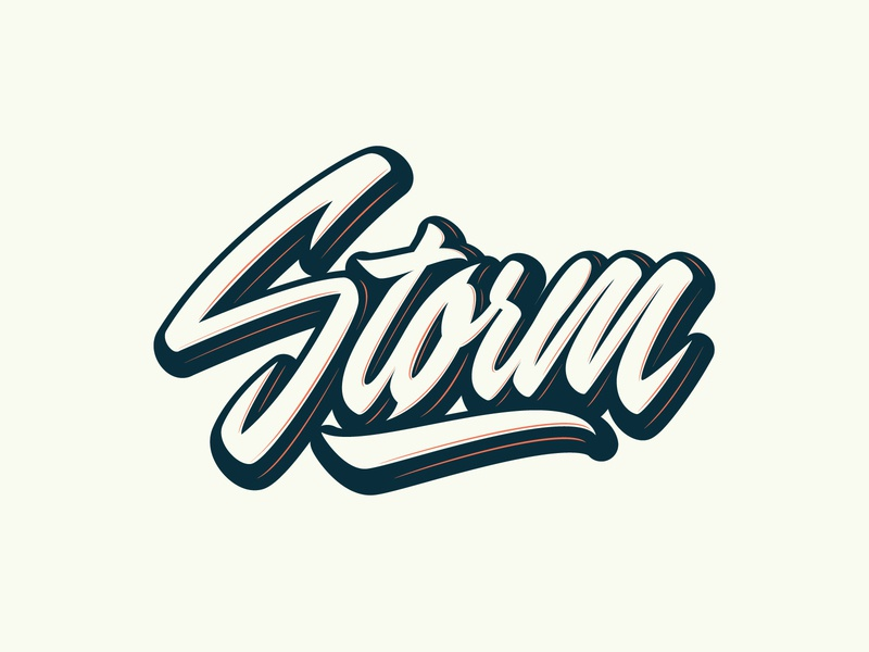 Storm - Logo for Porsche-tuning company by Yevdokimov Kirill
