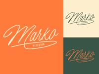 Marko - Logo Sketch for Pizzeria