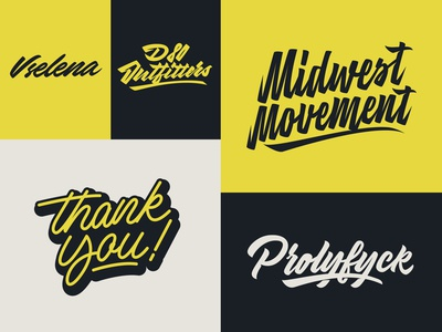 Some Lettering Logotypes