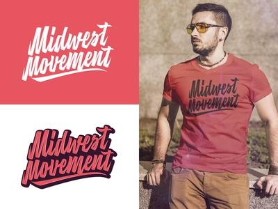 Midwest Movement full logo project for gaming team from Chicago