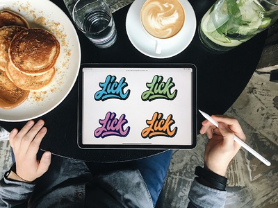 Lick - Logo Options for Personal Brand from Canada