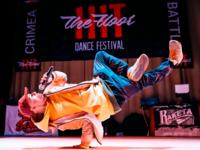 Hit The Floor - Logo Design for Dance Festival