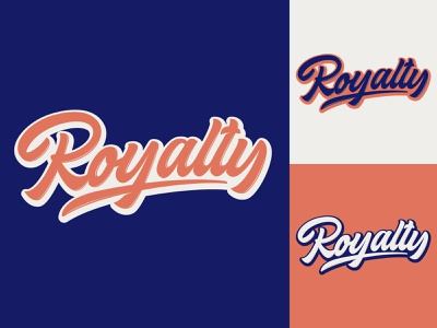 Royalty - Lettering Logo for Clothing Brand from California typography typo type streetwear sketches script packaging mark logotype logo lettering identity hand lettering free font fashion design clothing calligraphy branding