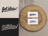 Got Ideas! - Logo for Design Studio