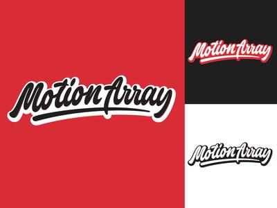Motion Array - Logo for stock media marketplace