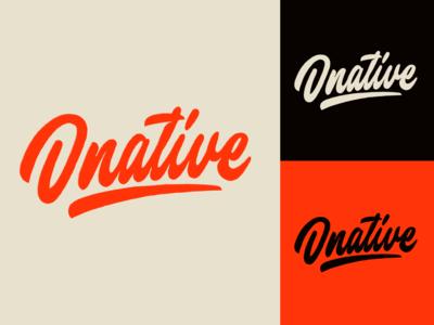 Dnative - Logo Sketch for blog about social media marketing