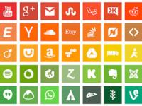 Flatoids   Free Icon set