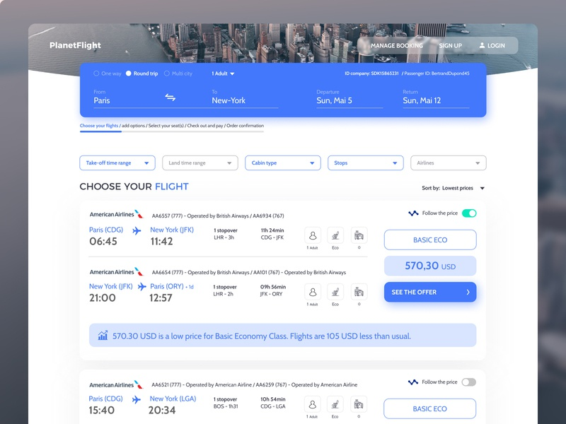 Booking flight API demo uxui design uxuidesign booking system travel seller traveling ux booking flight booking uxui travel webdesign uxdesign branding and identity ui design website design branding uidesign ui