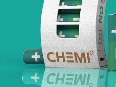 Chemi - 48 hour repack design 48 hour repack graphics branding packaging batteries