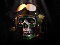 GIF ▸ Skull Series   Aviator ☠