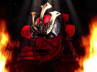 GIF ▸ Skull Series   Samurai ☠