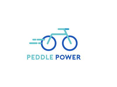Daily Logo Challenge: Bicycle Shop digitaldesign blue cycling bicycle bike dailylogochallenge logo design logo