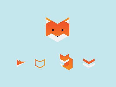 Daily Logo Challenge: Fox logo design fox illustration daily challenge adobe illustrator fox logo logo logodesign daily logo challenge
