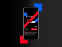 Mobile E-Commerce: Adidas Harden Vol 1.