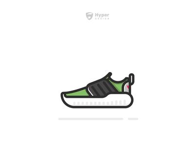 Adidas Sneakers Ilustration