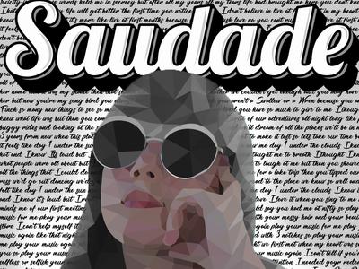 Saudade Low Poly Album Cover