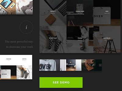 Framer - Component-Based Multi-Purpose Framework clean minimal modern ui ux design web website web design flat layout landing