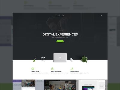 WIP - Framer resume page ui ux design web website web design modern flat clean minimal layout landing