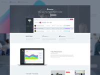 Superawesome - Landing Page