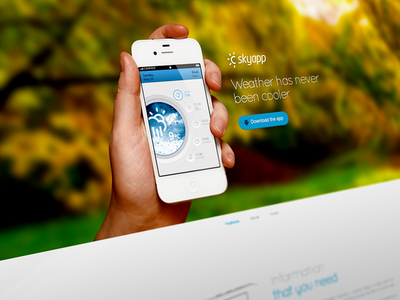 Superawesome - Retina Bootstrap App Landing Page