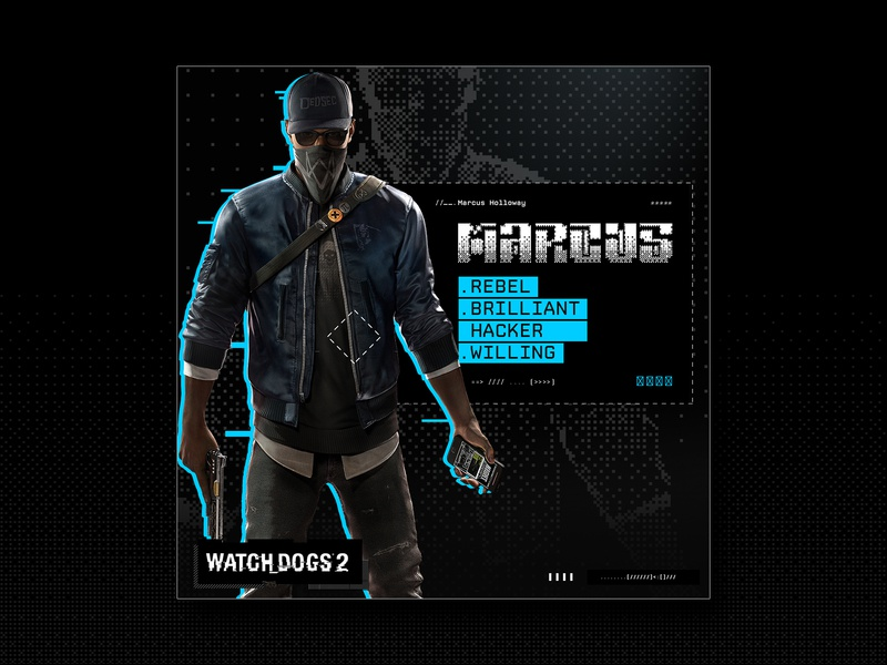 Ubisoft | Watch Dogs 2 | Social Media by Adam Toma on Dribbble