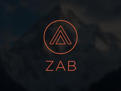 Zab Logo static saas logo hosting cms branding zab dev