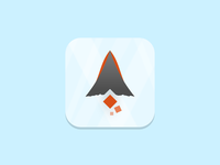Fire Mountain Icon