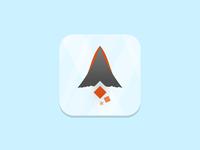 Fire Mountain Icon