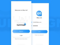 Login Page App UI