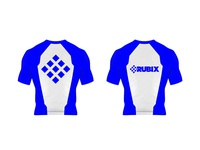 Rashguards design for Rubix BJJ