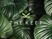 The Keep Hostel Logo Design
