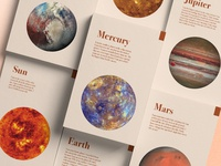 Whole Beings Planet Cards