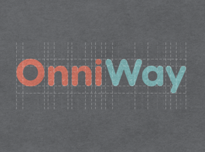 Logotype for Onniway Kids graphic design design brand identity branding typography typeface type logotypedesign logotype