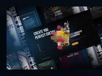 Schnee Jager, Homepage