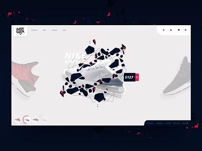 E-commerce UI KIT sport store adidas nike e-commerce adobe xd slider webdesign ui ux
