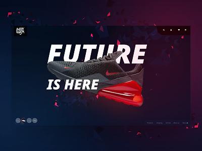 E-commerce UI KIT adobe xd branding typography logo design interaction store nike slider e-commerce webdesign ui ux