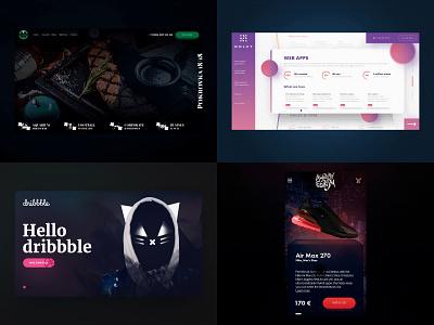 My 2018 e-commerce interaction webdesign ui ux