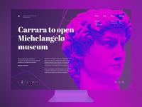Michelangelo screen