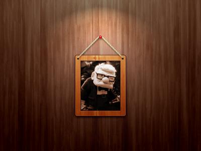 Frame frame wood picture