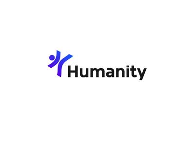 Humanity logo minimal logo design logo branding simple clean