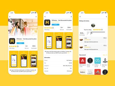 Day 9 - VMaslowApp Info in AppMarket ux app ui
