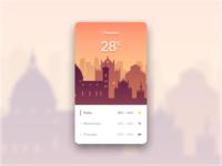 Day 30 - Weather screenshot