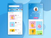 Day 37 - Social app for Designer / Photographer