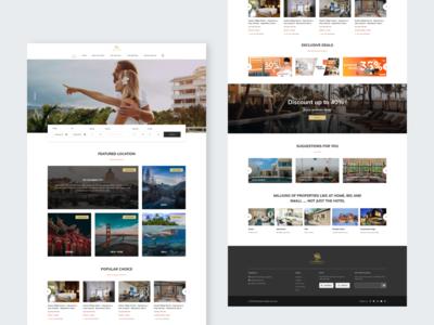 Mandala - booking website