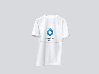 Packaged Water Service Branding [AQUA REAL LIFE] packaged water service logo branding brand
