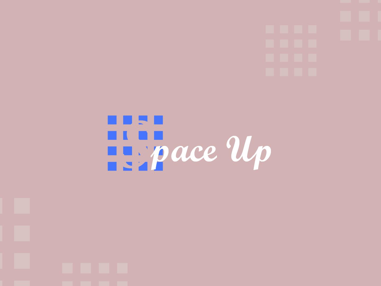 Space up Logo concept logo