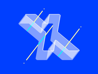 X is for X-Ray brand brand mark vector ux ui typography type minimal logo lettering illustration identity icon graphics flat digital design branding app