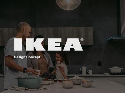 IKEA Redesign Concept web ux ui design